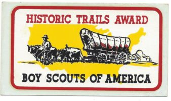 Historic Trails Award Decal