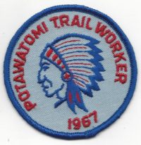Potawatomi Trail Worker