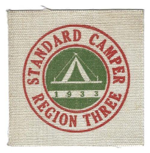 Region Three 1933 Standard Camper