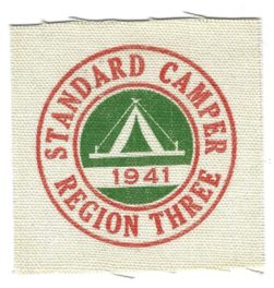 Region Three 1941 Standard Camper