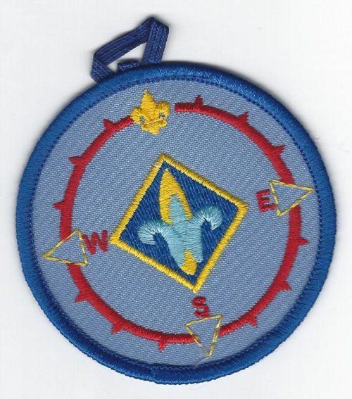 Webelos Compass Point Emblem