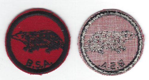 Badger Patrol Patch