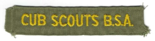 Cub Scouts B.S.A. Pocket Strip