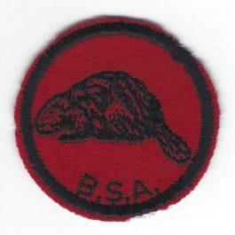 Beaver Patrol Patch