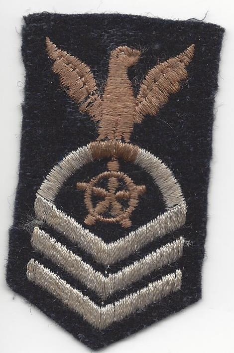 chief petty officer quartermaster pre 1940 sailor made trading eagles