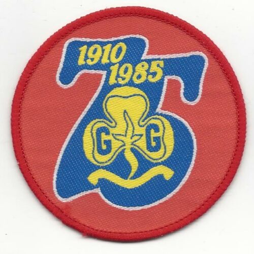 75 Anniversary AU Girl Guides 1910-1985