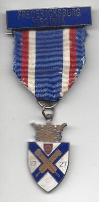 Fredricksburg Historic Trail Medal
