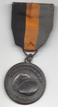 Amaquonsippi Trail Medal