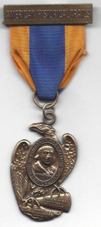 Benjamin Franklin Trail Medal