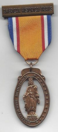 Bicentennial Trail Of Freedom Medal
