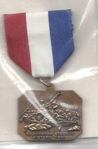 Washington Crossing The Delaware Trail Medal