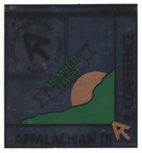 Appalachian Trail Conference 1999 Member Decal