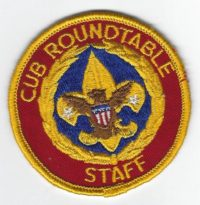 Cub Roundtable Staff C-RS1