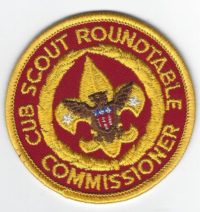 Cub Scout Roundtable Commissioner C-RC3