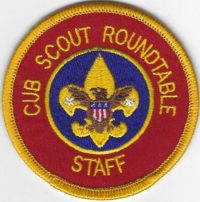 Cub Scout Roundtable Staff C-RS2