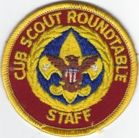 Cub Scout Roundtable Staff C-RS3