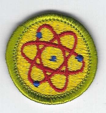 Atomic Energy Merit Badge Type H