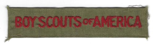 Boy Scouts of America Pocket Strip