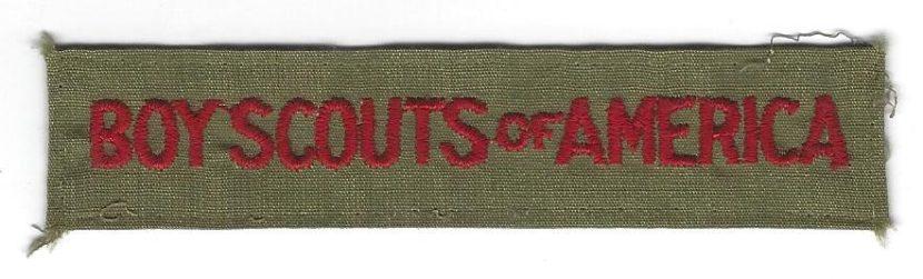 Boy Scouts of America Pocket Strip