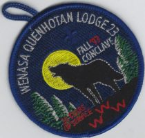 23 Wenasa Quenhotah Lodge Fall Conclave