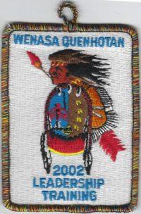 23 Wenasa Quenhotah Lodge Leadership Training