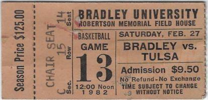 Bradley University Season Ticket