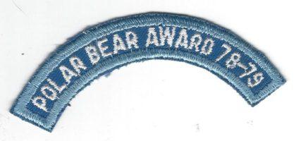 Polar Bear Award 78-79 Rocker