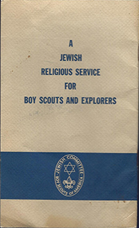 A Jewish Religious Service for Boy Scouts and Explorers