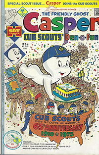 Casper Cub Scouts Den-O-Fun May 1975