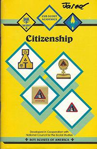 Cub Scout Academics Citizenship