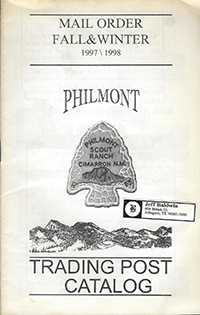 Philmont Mail Order Fall - Winter 1997 - 1998