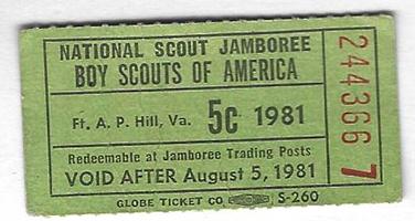 1981 NJ 5 Cents