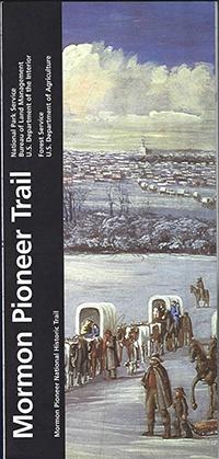 Map Mormon Pioneer Trail