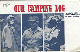 Our Camping Log Application for National Camping Award 1985